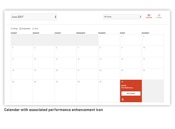 Performance Enhancements Calendar Highlight