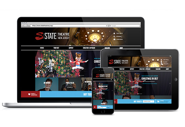 State Theatre New Jersey Homepage