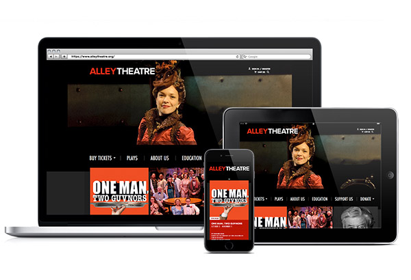 Alley Theatre Homepage