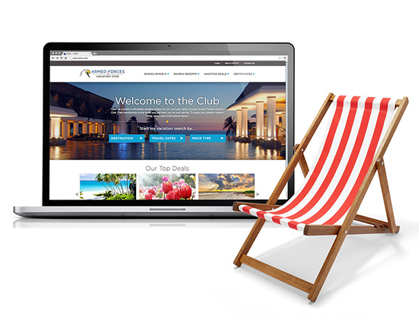 Armed Forces Vacation Club Homepage