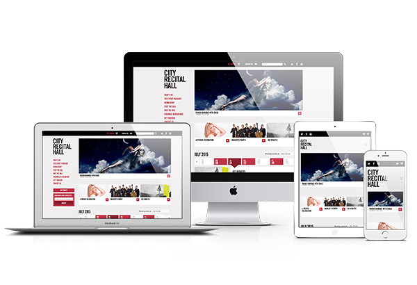 City Recital Hall Homepage