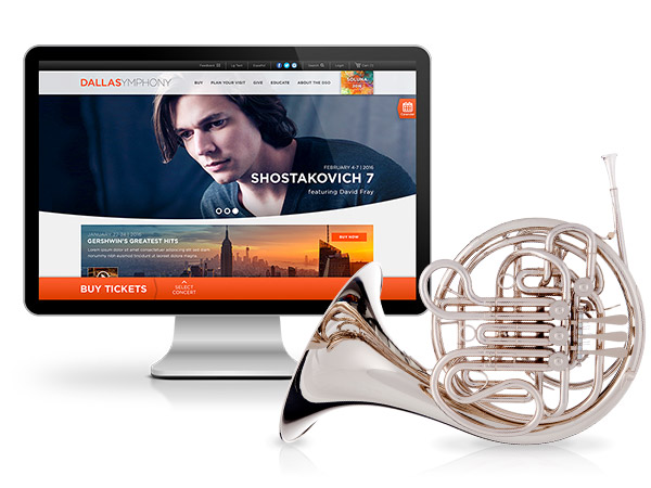 Dallas Symphony Orchestra Homepage