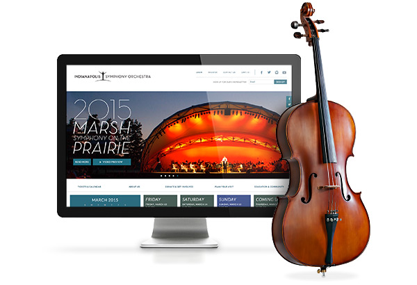 Indianapolis Symphony Orchestra Homepage